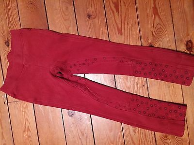 "Red Harry Hall Jodhpurs Jodphurs Child 22"" Regular 122-128cm Age 6/7 years"
