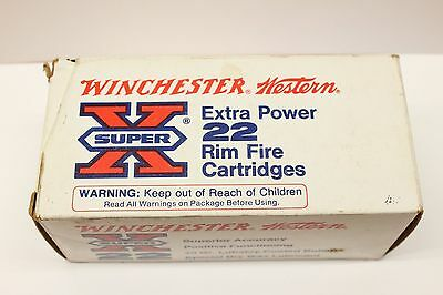 Winchester-Western Super-X .22 LR Extra Power Red-X
