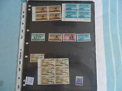 mint southampton 1971 strike post stamps