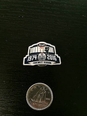 Oilers Farewell Rexall Place 1974-2016 Pin