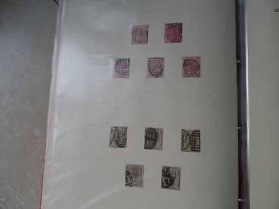 GB 5 x 3p and 5 x 6p stamps 1873/80