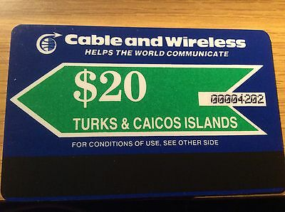 Testausgabe Autelca : Turks & Caicos Islands - Cable and Wireless - topmint