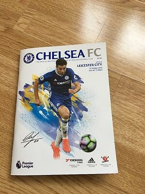 Chelsea Signed Programme