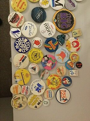 Job Let Of 1980's 90's Vintage Badges