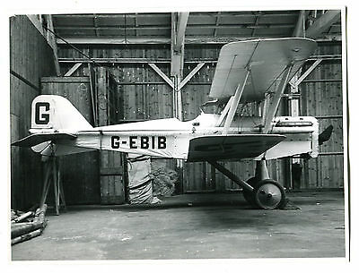 Photograph of Royal Aircraft Factory S.E.5A  - G-EBIB - Savage Sky Writing Co