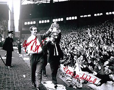 Liverpool Fc 1965 Fa Cup Photo, Kop -  Authentic Hand-Signed By 2
