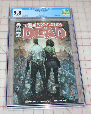 The Walking Dead 100 First Silvestri Cover Cgc (0298224010) 9.8 Not Cbcs
