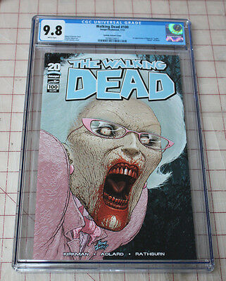 The Walking Dead 100 First Quitely Cover Cgc (0298224011) 9.8 Not Cbcs