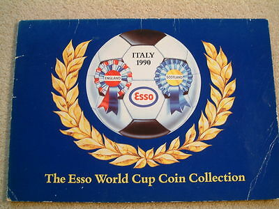 Esso 1990 World Cup Coin Collection - England and Scotland