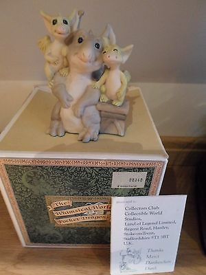 Real Musgrave Pocket Dragon Friends RARE RETIRED BOXED  Dragons & Gargoyle
