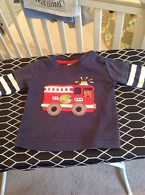 Baby Boys Frugi Top size 6-12 months