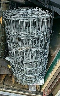 Stock Fencing: Galvanized Approximately 180m