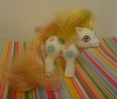 Vintage My little pony Apple delight baby sister