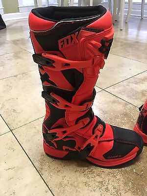 Fox Racing Boots Comp 5 Y8