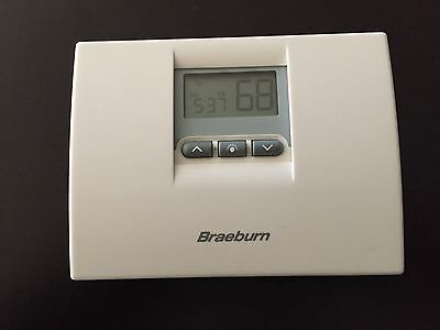 "Braeburn 2000 5-2 day Programable Thermostat  ""White"" 1-Heat 1-Cool"