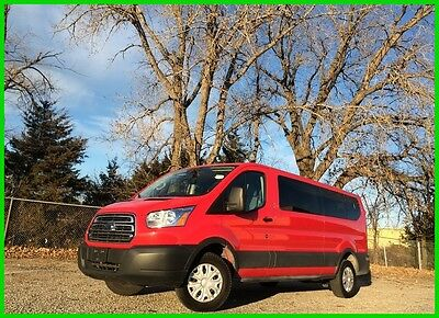 2016 Ford Other XLT 2016 Ford Transit XLT Low Roof 15 Passenger Wagon  Two To Choose From!