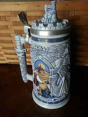 VINTAGE AVON Stein Knights Of The Realm BEAUTIFUL