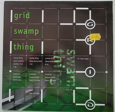 """12"""" Nl**the Grid - Swamp Thing (Deconstruction '94)***22792"""
