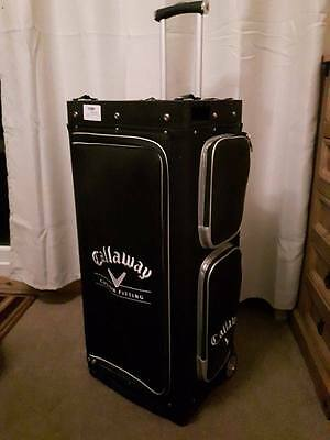 Callaway Opti-Fit Golf Demo Kit Custom Fitting Set Wheeled Trolley Golf Bag NEW