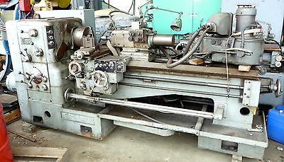 """Rare John Lang 15"""" Lathe with Hydraulic Tailstock and Tracer Attachment"""