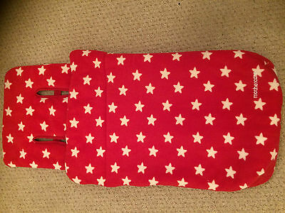 Mothercare Fleece Cosytoe - Buggy Foot muff - Red Star