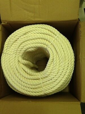 """600' SPOOL FIBROUS 100% COTTON TWISTED ROPE 5/8""""x 600'"""