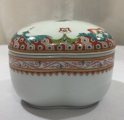 Vista Alegre 1824 Portugal Maybell Small Porcelain Trinket Box