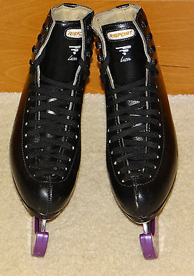 Mens, Gents, Boys Black Risport Laser Figure Ice Skates size 5.5 (260)