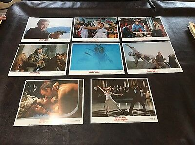 Vintage Original Set Of Lobby Cards From NEVER SAY NEVER AGAIN/James Bond #12