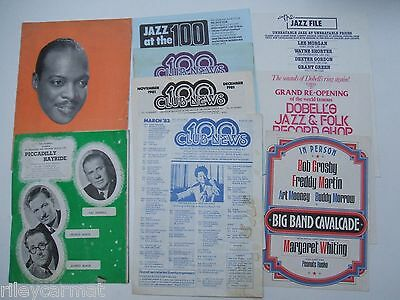 Jazz: Count Basie Tour Programme 1957/Sid Field,Piccadilly Hayride,100 Club News