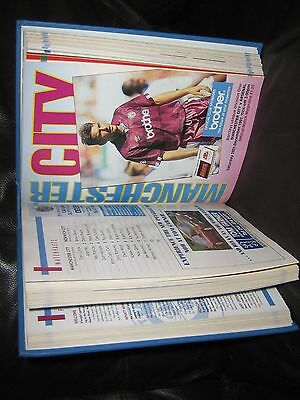 Bound Volume - Manchester City 1991-92 Complete Set