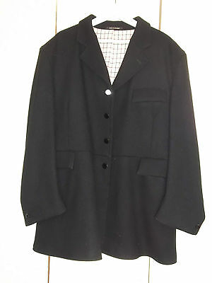 "Gents 48 - 50 Mears - Pytchley Heavy frock hunt coat EXCELLENT COND"" £400 RRP"