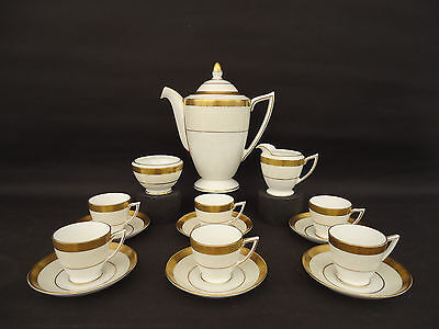 Minton Westminster Coffee Set Inc. Milk/ Sugar / 6 Cups/saucers Free Uk Shipping