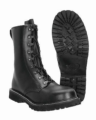"""MIL-TEC Springerstiefel Modell """"Para"""" m. Kappe 9-Loch Outdoor Army Stiefel Boots"""