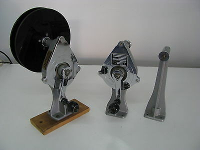 "Easton 16mm Film Winder Kit (3 Posts, 2 with Winders) Sold ""AS IS"""