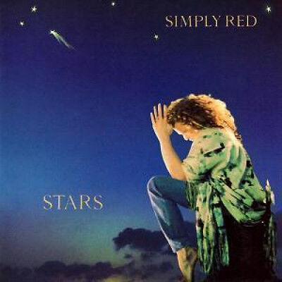 SIMPLY RED Stars LP VINYL European Warner 10 Track, 25Th Anniversary Editon