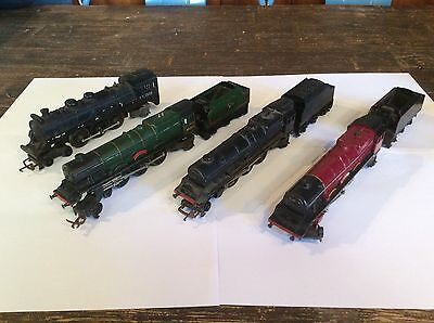 HO Old Triang Steam Engines, No Motors! Excellent For Spare Parts Or Rebuild.