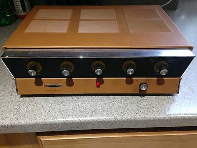 Vintage HEATHKIT by DAYSTROM AA-151 Stereo Tube Amplifier super clean powers on
