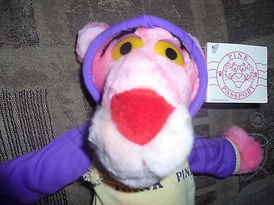 # L@@K Vintage 1993, Pink Panther in sports kit United Artists (EX, W/ Tags) #