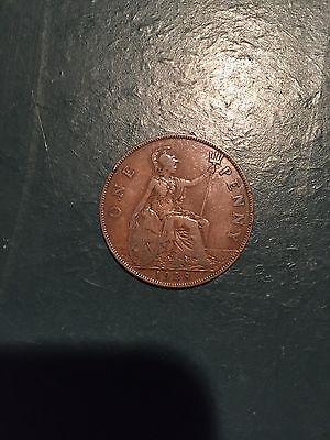 1928 Great Britain Penny