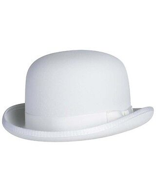 Classic Derby Hat in White