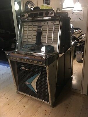 Jukebox Musikbox Rock Ola Tempo 2 ll 120 Bj 1950-1960 RockOla