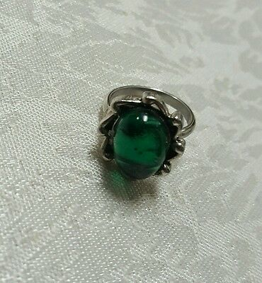Vintage Green Fashion Ring - NEW YEARS SALE