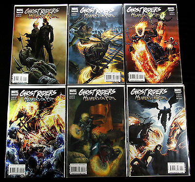 Ghost Riders Heaven's On Fire #1-6 1 2 3 4 5 6 Nm+ Agents Marvel Comics 2009