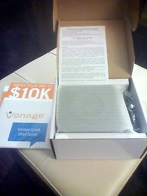 Vonage - HT802 Grandstream Telephone Router Adapter - NEW