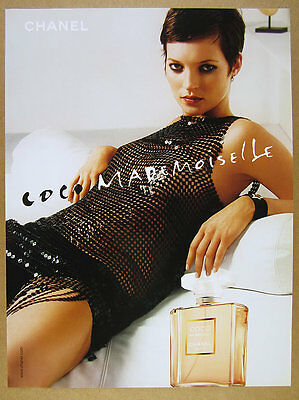 2003 Chanel COCO Mademoiselle Perfume bottle photo print Ad advertisement