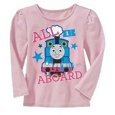 THOMAS THE TANK LONG SLEEVE T SHIRT ( SIZE 2T, 3T, 4T or 5T) NEW!!!