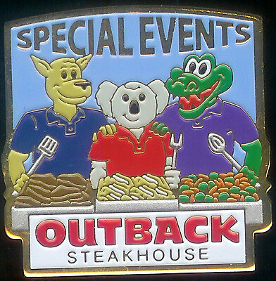J2915 Outback Steakhouse Special Event Servers hat lapel pin