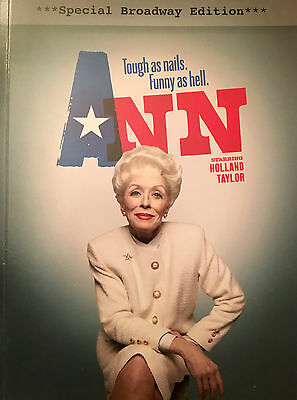 ANN Play Script by Holland Taylor - Special Broadway Edition