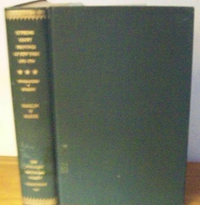 Rare 1959 SUPREME COURT OF JUDICATURE OF THE PROVINCE OF NEW YORK 1691-1704